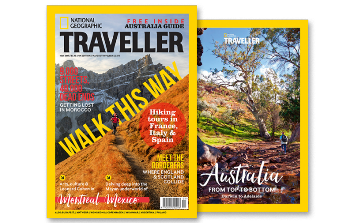 National Geographic Traveller May 2017 cover
