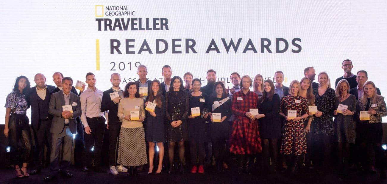 National Geographic Traveller (UK) Reader Awards 2019