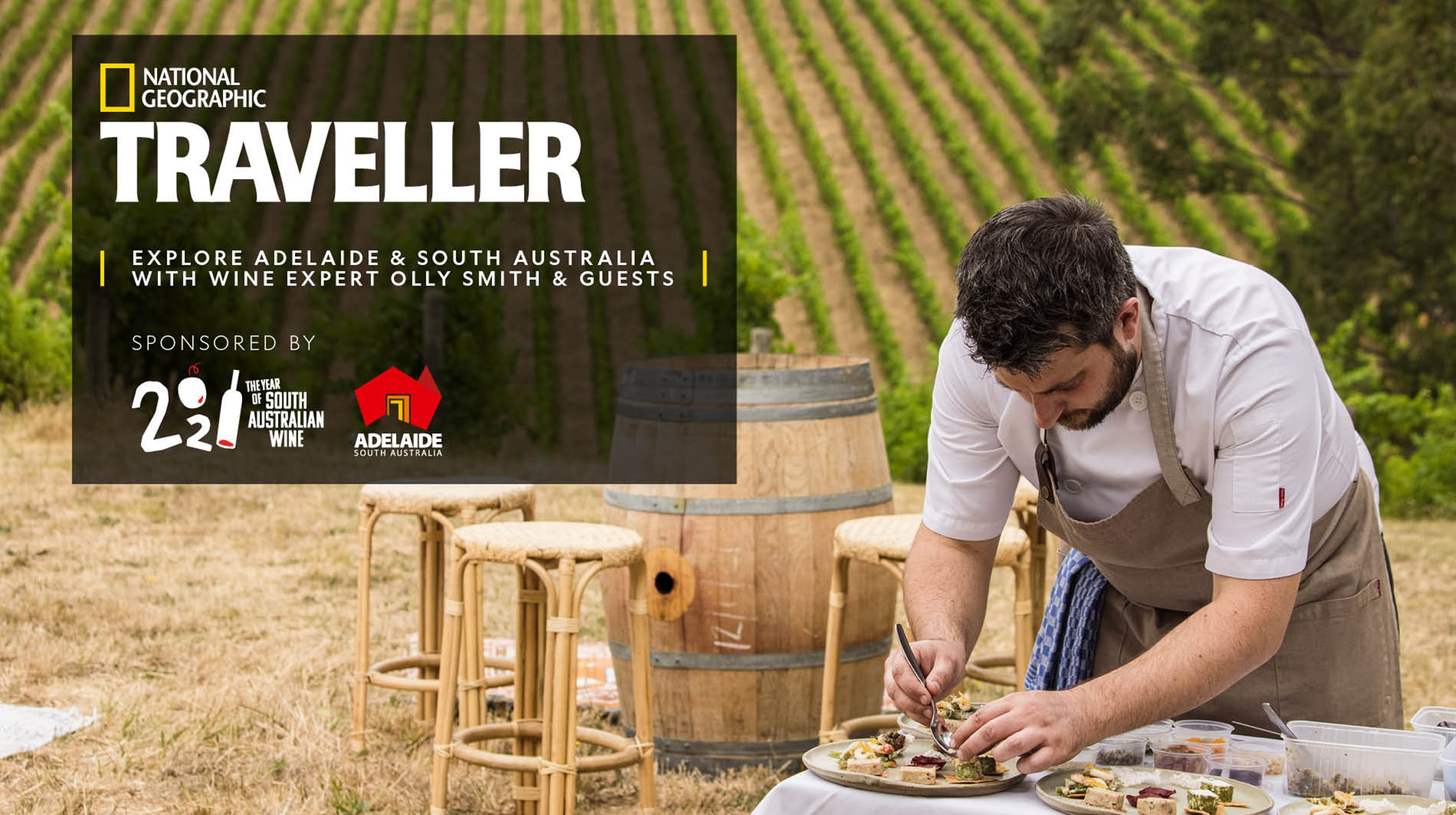 National Geographic Traveller (UK) event with South Australia.
